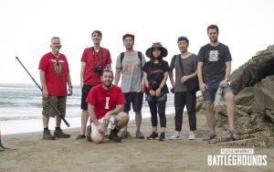 Equipe de design do PUBG