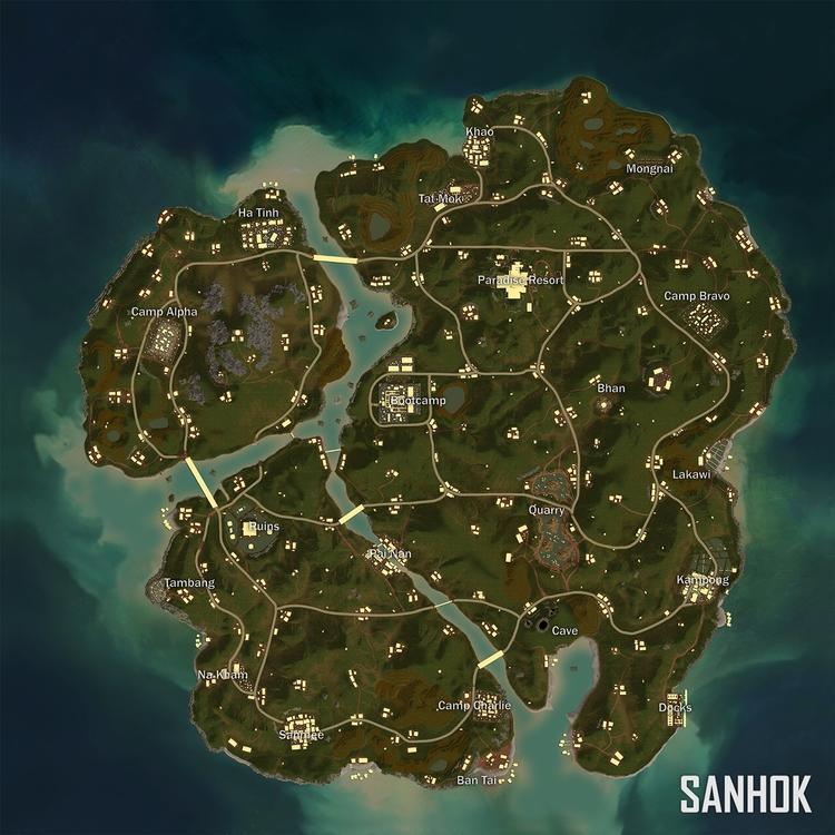 Mapa Sanhok