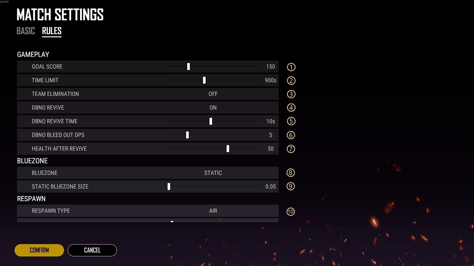 Custom Match war mode