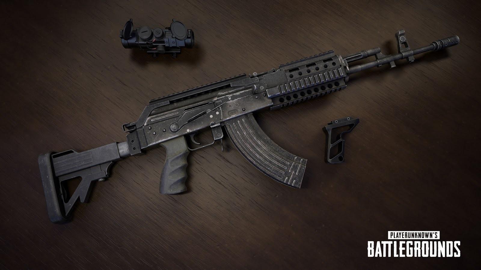 Nova arma: Beryl M762