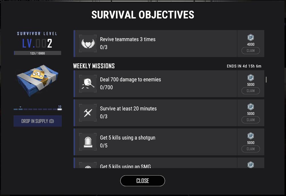Novo Sistema de Abastecimentos de Sobrevivência
