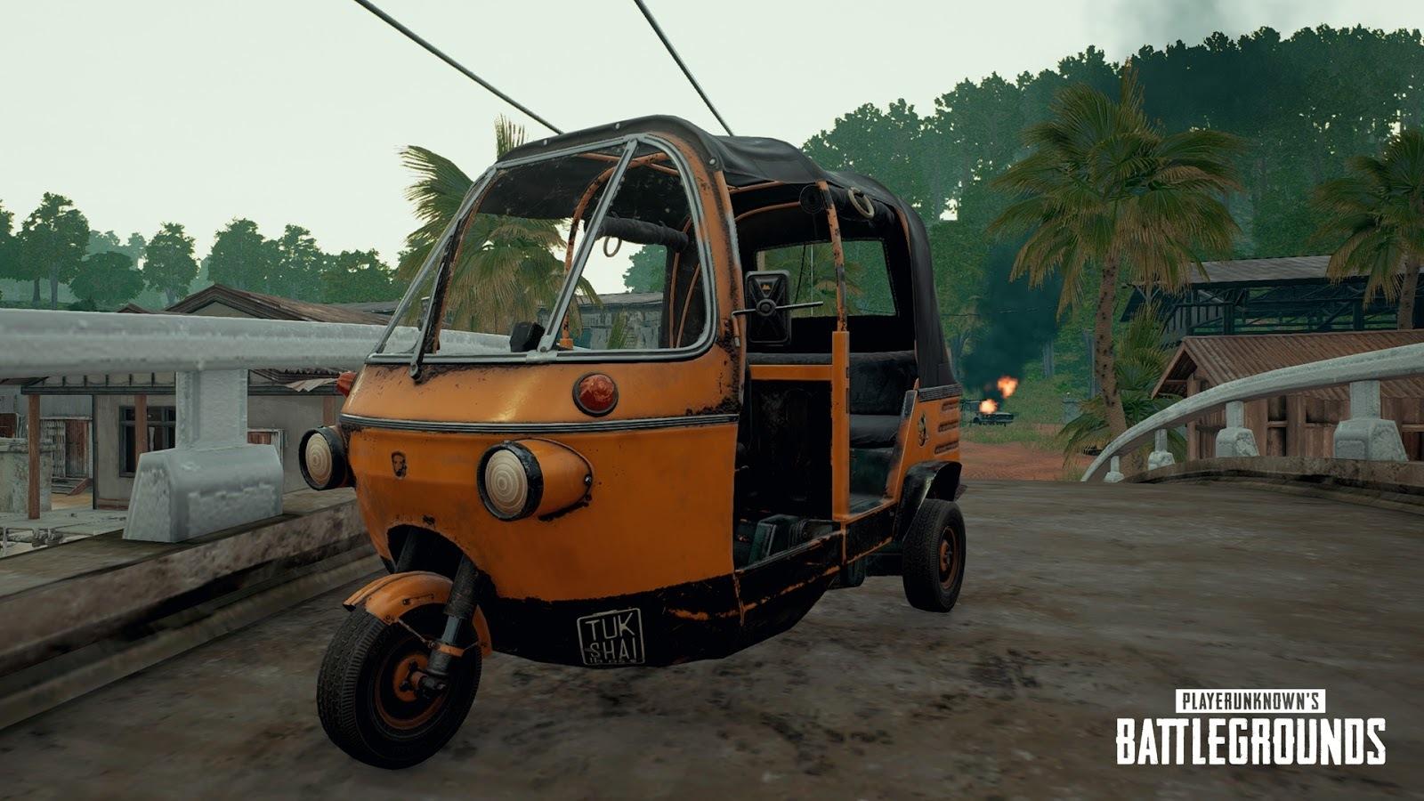 Novo veículo Tukshai